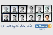 Venda de llibres solidaris en favor de La Marató de TV3