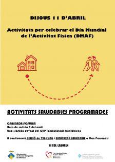 Montbui celebrarà el Dia Mundial de l'Activitat Física amb propostes saludables