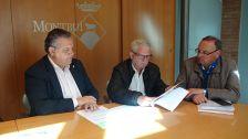 Conveni de col·laboració amb la UE Sant Maure