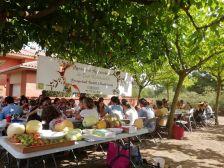 Una imatge del Dinar de la Festa Major al nucli de La Mallola
