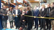 Inaugurat el Magatzem Logístic dels Aliments que dóna servei a l'Anoia