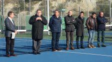 Inaugurada l'ampliació d'instal·lacions de tennis municipal